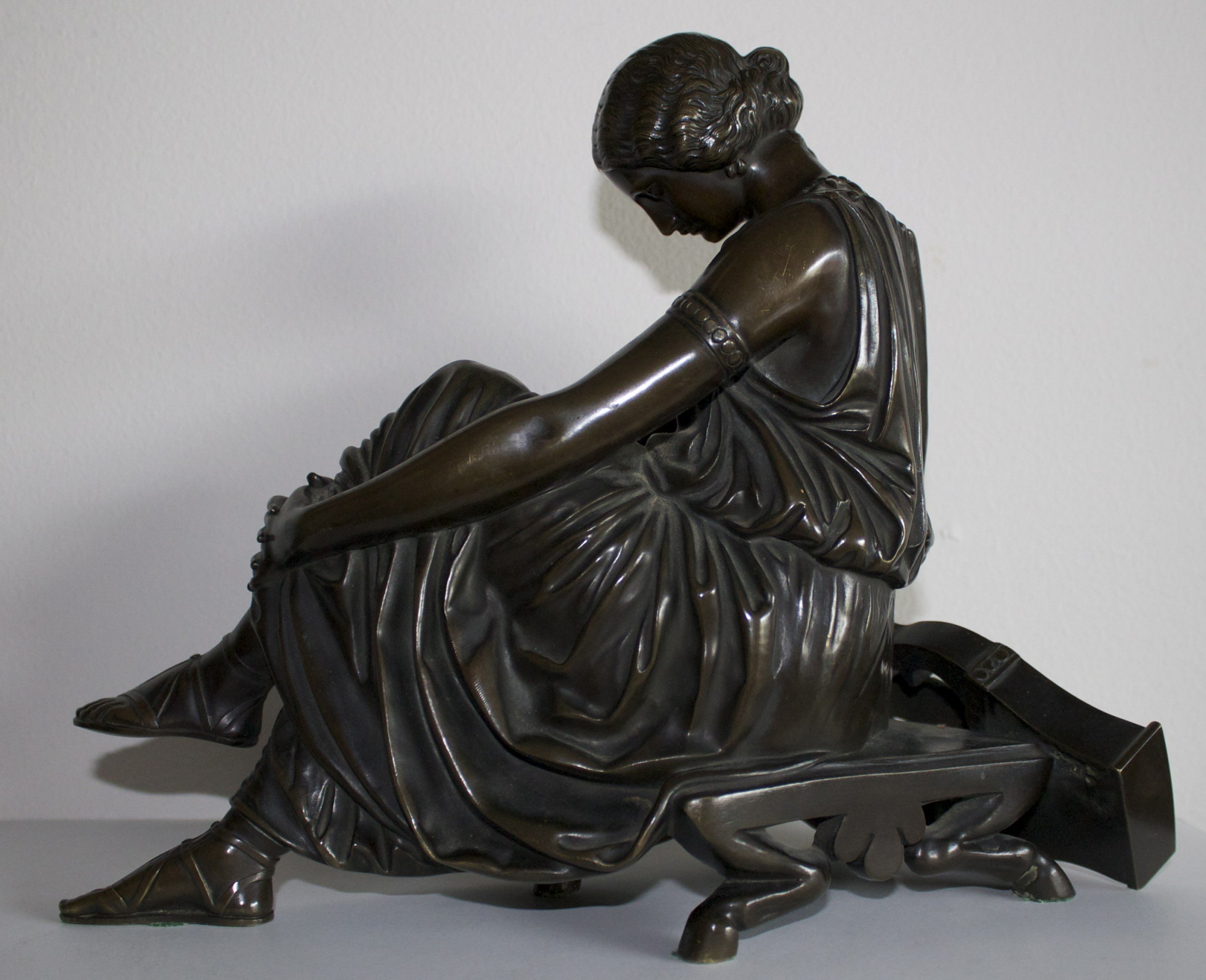 Jean Jacques Pradier The Seated Sappho 1820