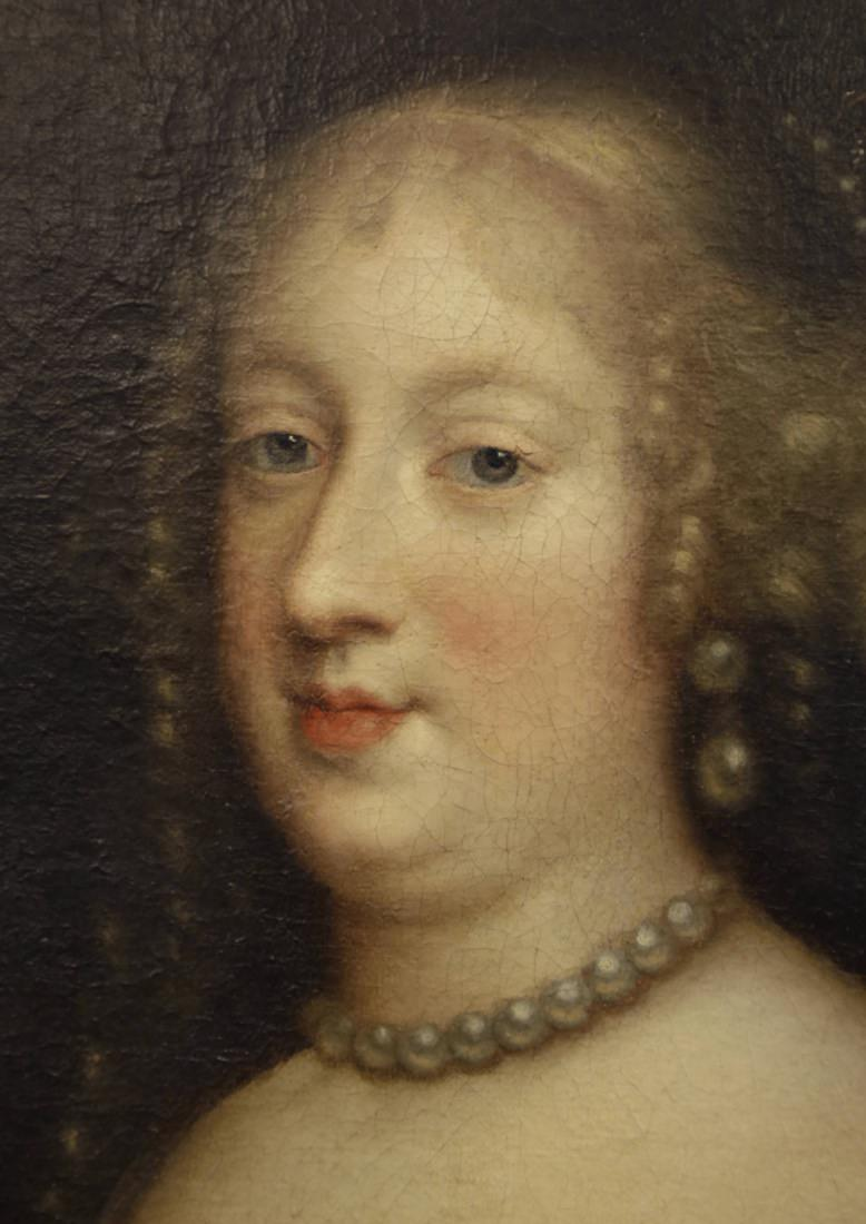 Attributed To Charles Beaubrun Portrait Of Marie Therese