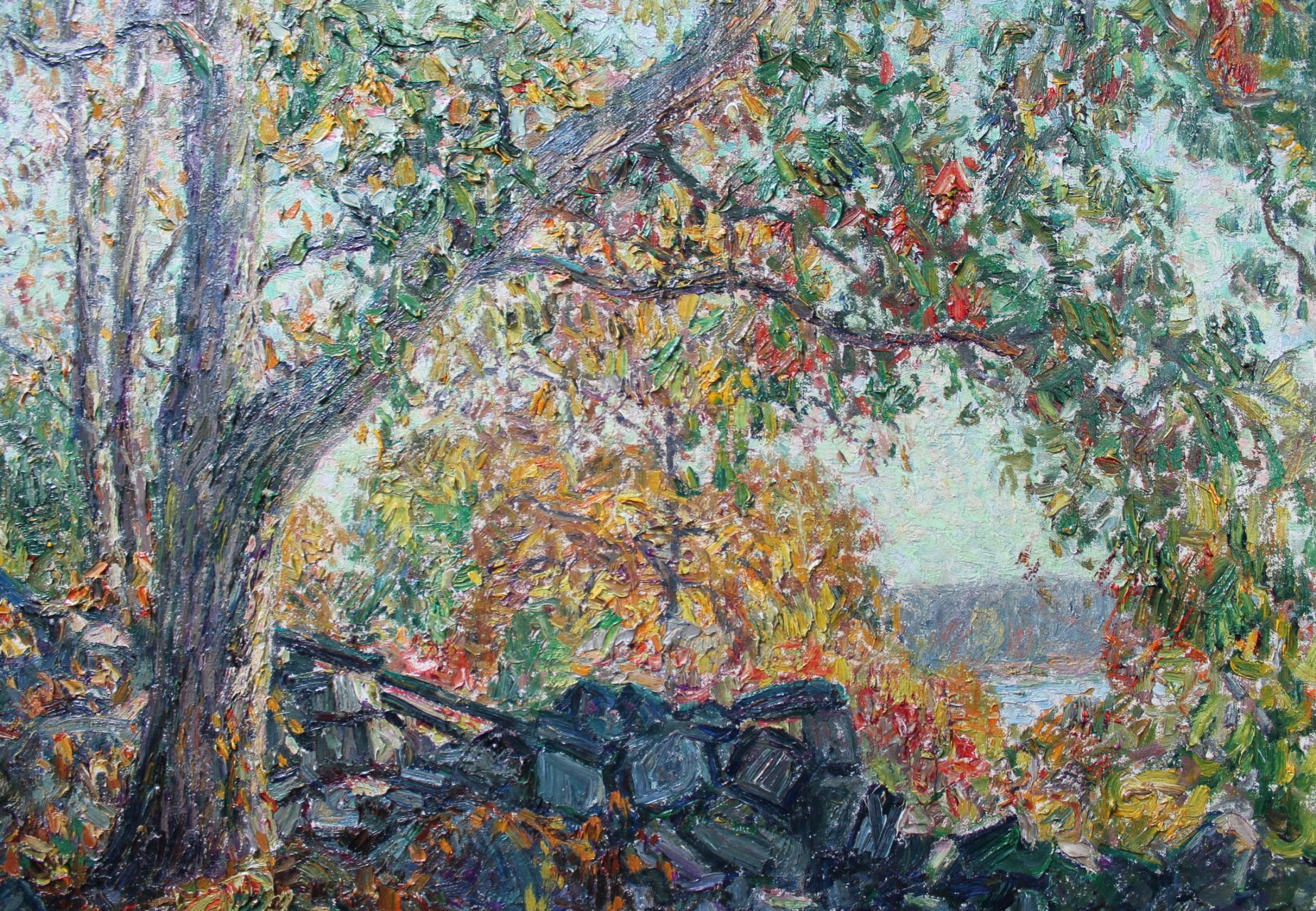 Wilson Henry Irvine - Autumn Landscape : Collection : WOLFS Art Dealers and Appraisers