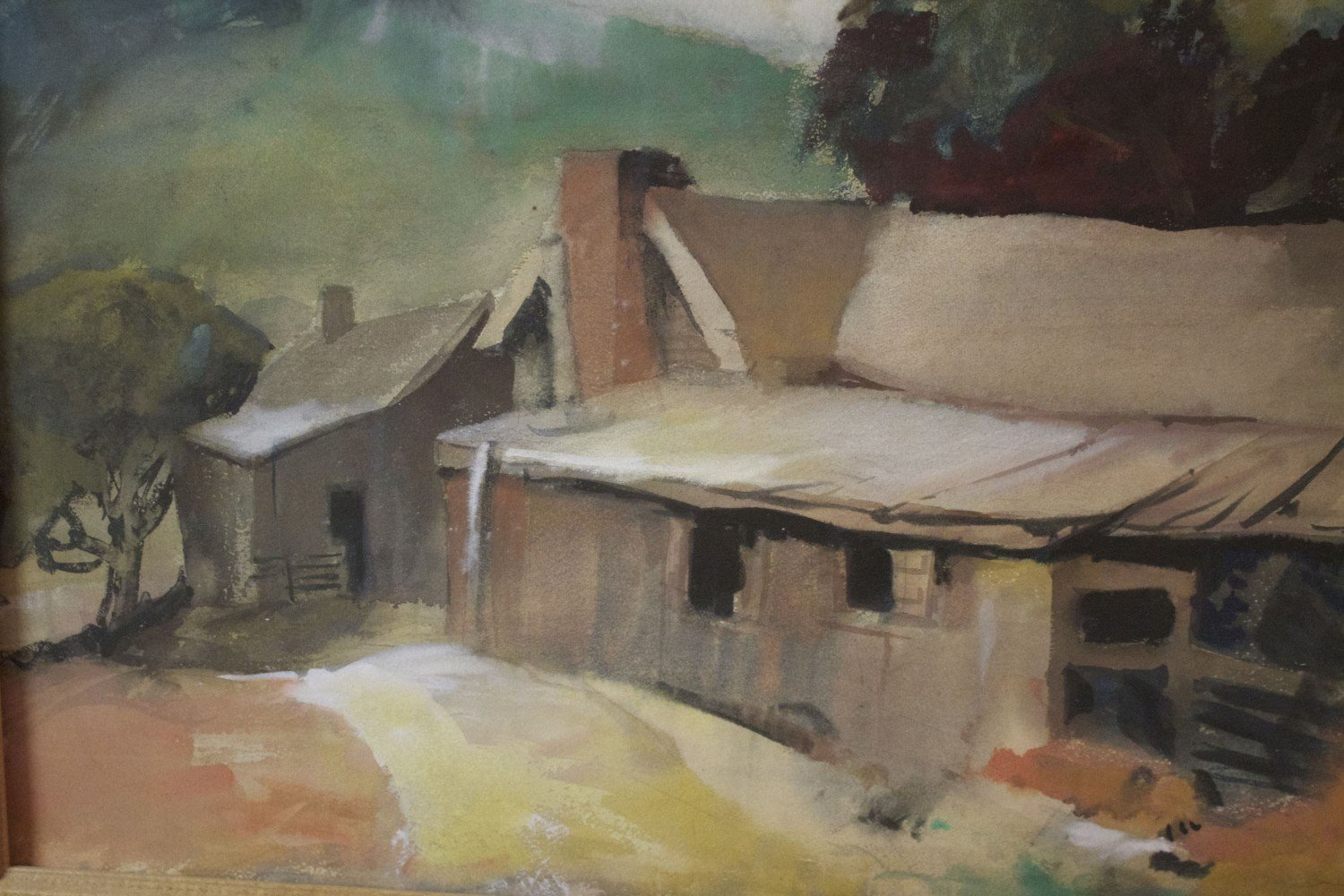 Gärtner carl frederick gaertner barn buildings collection wolfs paintings and sculpture