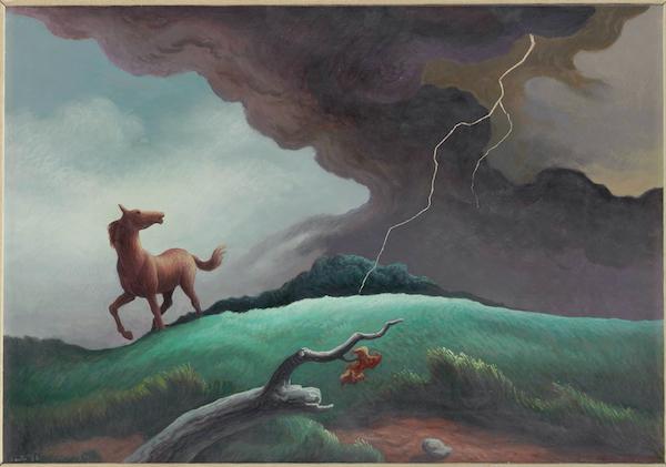 Spring Storm by Thomas Hart Benton