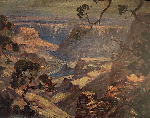 The Grand Canyon by Edward H. Potthast