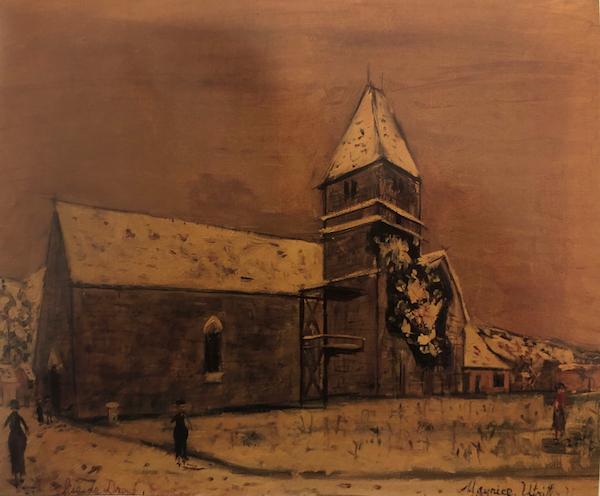 L'Eglise de Droue by Maurice Utrillo