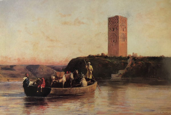 Crossing the River by Edwin Lord Weeks