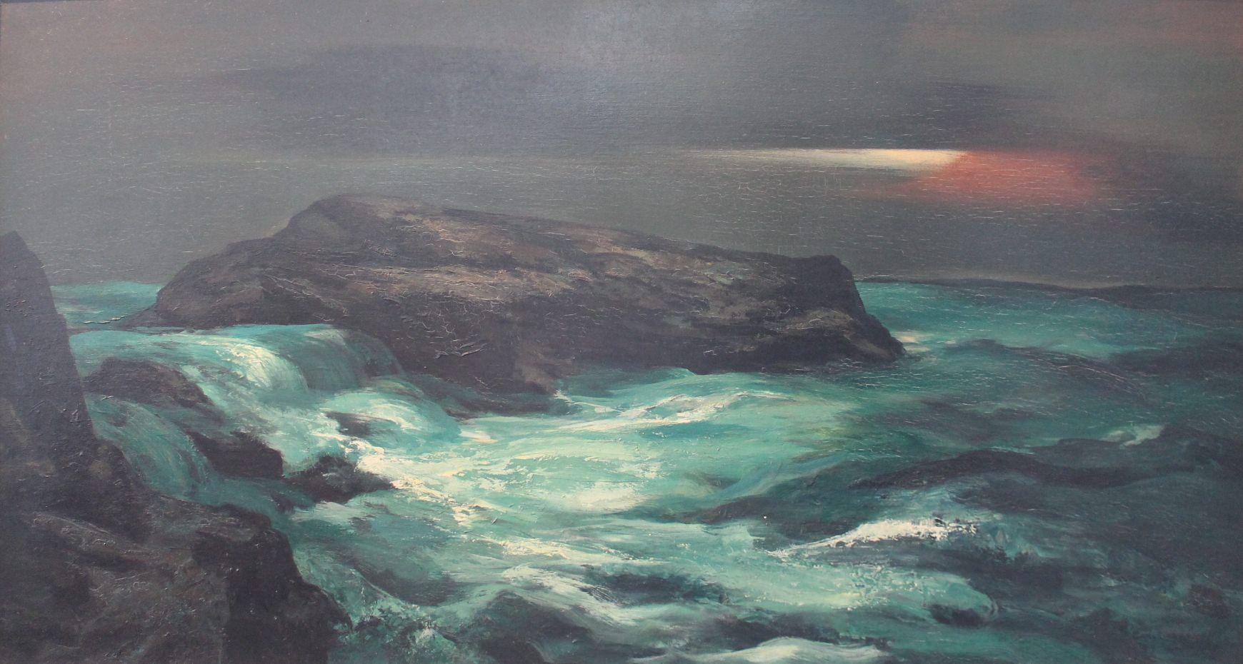 The Green Sea by Carl Frederick Gaertner