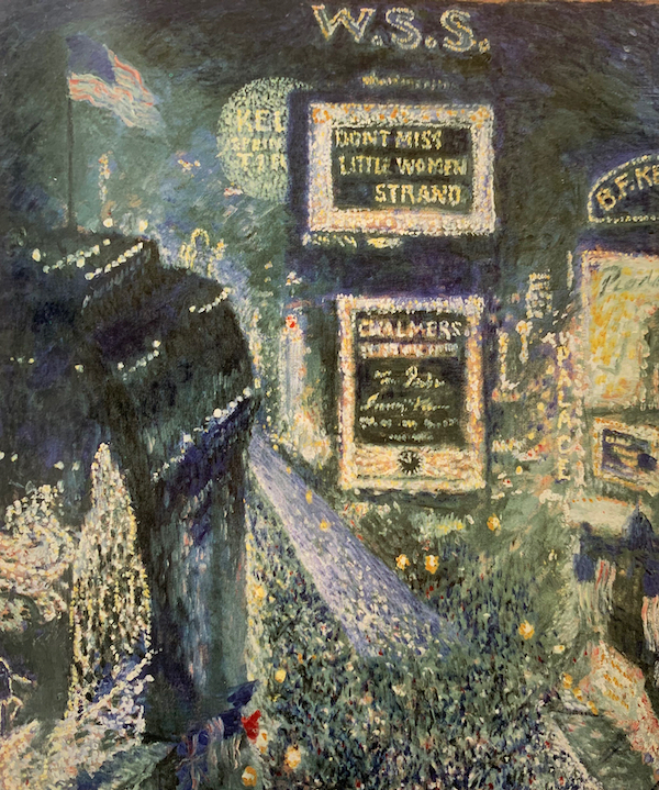 Times Square, Armistice Day by Theodore Earl Butler
