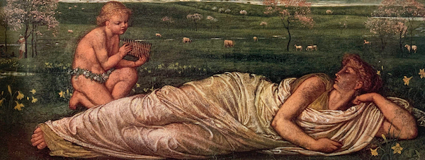 The Earth and Spring by Walter Crane