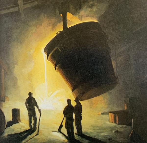 The Ladle by Carl Frederick Gaertner