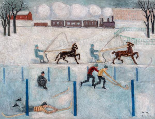 Hockey by Einar Jolin