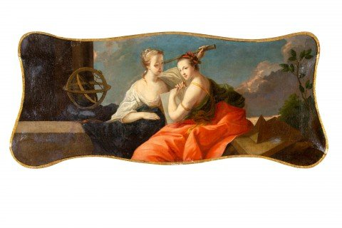 Women Reclining with Globe