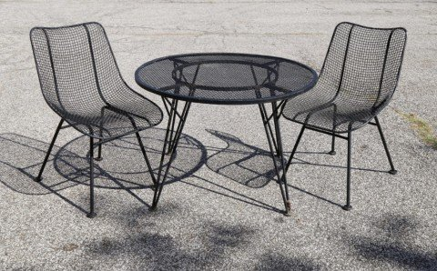Russell Woodard Sculptura Garden Furniture by 20th Century American School