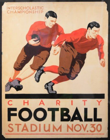 Charity Football, Interscholastic Championship, November 30