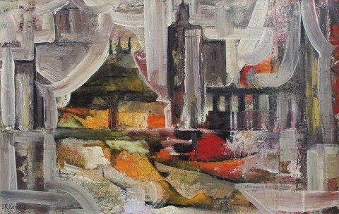Abstract Interior Scene