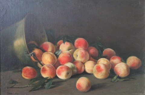 Still Life, Peaches by Adam Lehr
