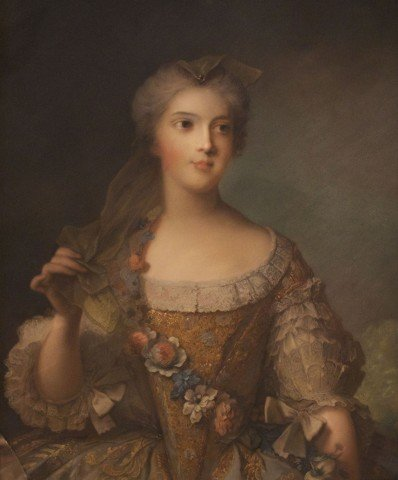 Portrait of Madame Sophie, Daughter of Louis XVth.
