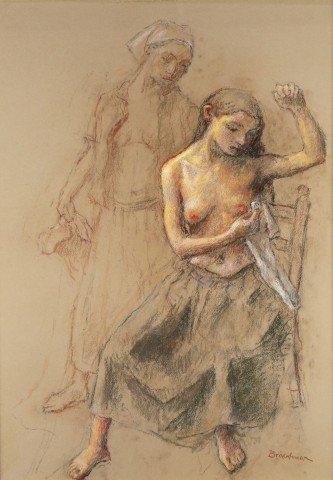 Robert Brackman - Two Women