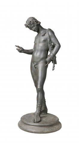 Grand Tour Bronze Sculpture of Dionysus