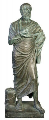 Bronze Figure of Sophocles