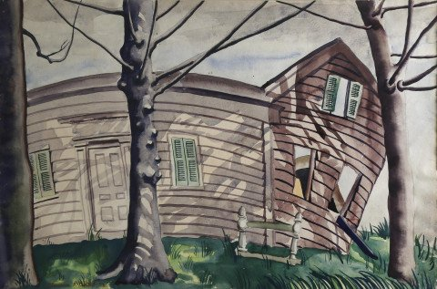 The Buckling House by Clarence Holbrook Carter