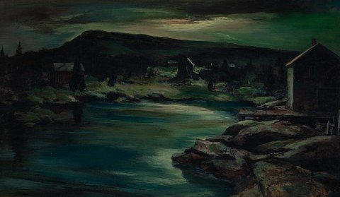 Clyde Cove, Moonlight