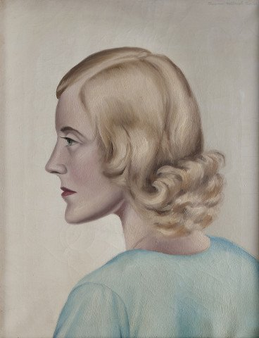 Blonde by Clarence Holbrook Carter