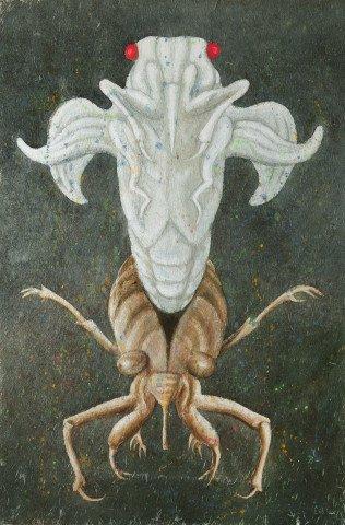 Animal Watercolor on Scintilla Painting: