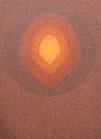 Sienna/Orange Mandala