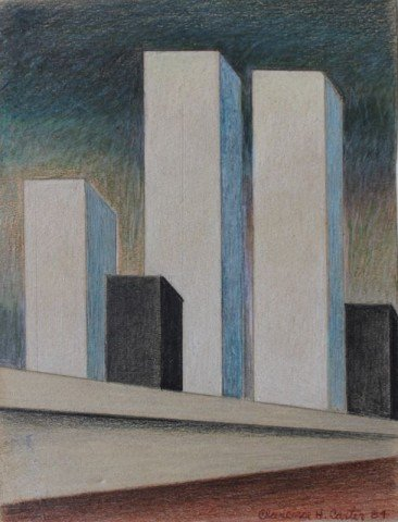 Study for Twin Towers