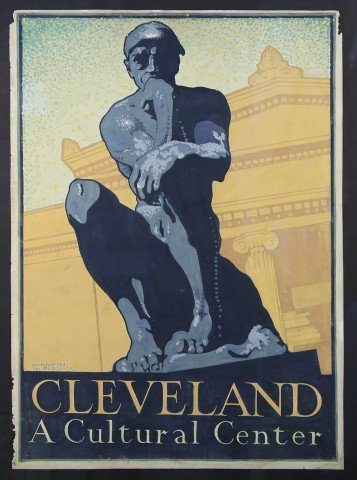 Cleveland, A Cultural Center by William A. Van Duzer