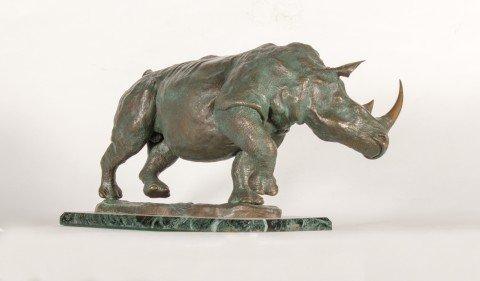 Bronze Rhino
