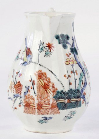 Worcester Kakiemon Pattern Cream Jug by 18thc. British School