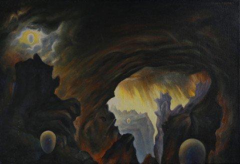 Eschatos No. 32 by Clarence Holbrook Carter