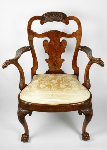 Fine 18thc. English Armchair  by 18thc. British School