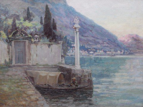 Boat House, Lake Como