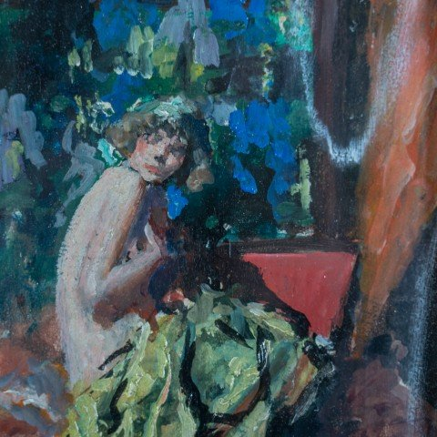 Nude by Indiana (Anna) Gyberson