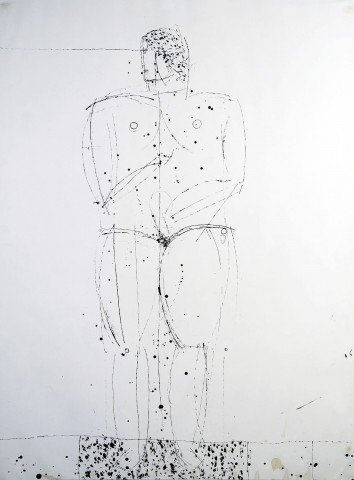 Standing Nude by Joseph Glasco
