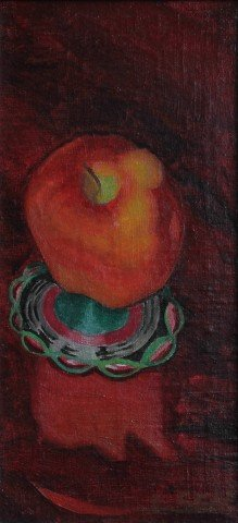 Still Life Oil on Canvas Painting: