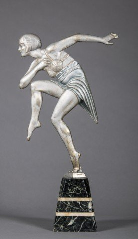 Art Deco Dancing Figure