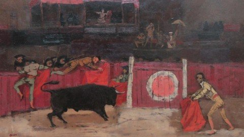 Bullfight by Louis Bosa