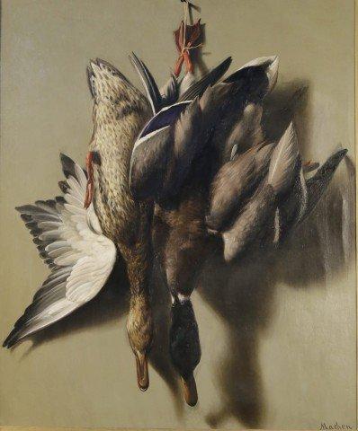 Hanging Mallards by William Henry Machen