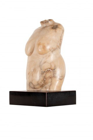 Figurative Marble Sculpture: