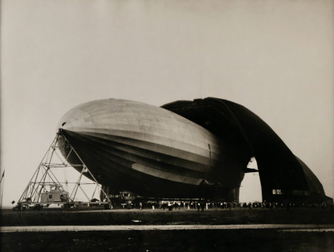 USS Akron by Margaret Bourke-White