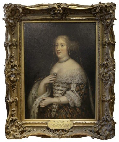 Portrait of Marie Therese of Austria