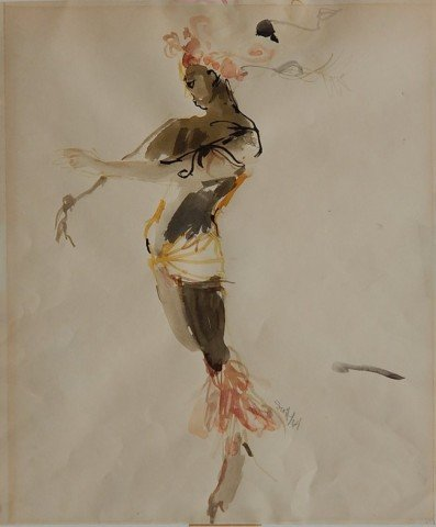 Study for a theatrical costume
