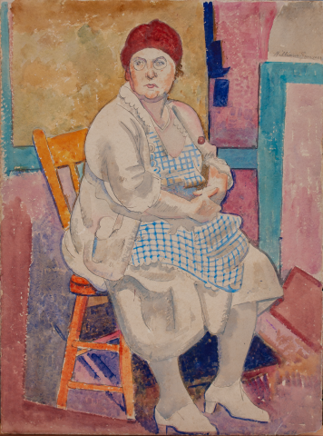 Portrait of Mrs. Sommer