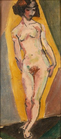Standing Nude by Thomas Furlong