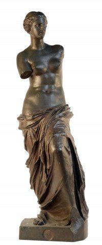 Venus de Milo or the Aphrodite de Milos by 19th Century Italian School