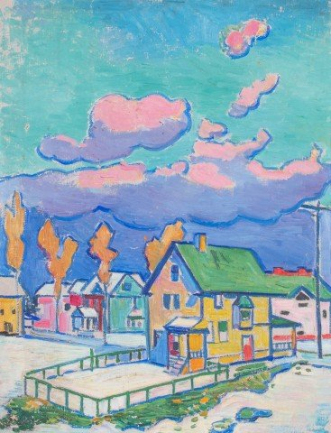 Houses and Pink Clouds, Lakewood