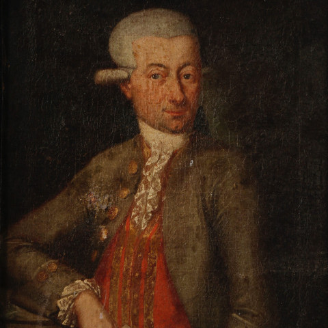 Portrait of Ignatius Nah by 18th Century Continental School