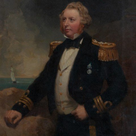 Portrait of a British Royal Naval Officer